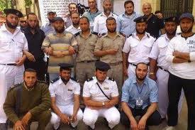أعتصام مفتوح للضباط الملتحيين أمام الداخلية