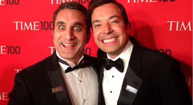صور تكريم باسم يوسف بمجلة تايم الامريكية ضمن 100 شخصية مؤثرة بالعالم
