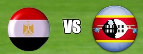 موعد مباراة مصر وسوازيلاند والقنوات الناقلة لها