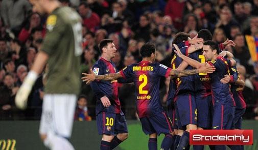 موعد مباراة برشلونة و باريس سان جيرمان وتردد القنوات المفتوحة الناقلة 2-4-2013