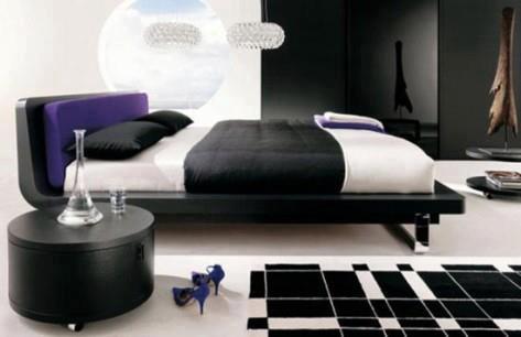 غرف نوم جديدة ملونة 2013