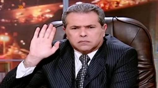 حلقة برنامج توفيق عكاشة على قناة المصارع 24/2/2013