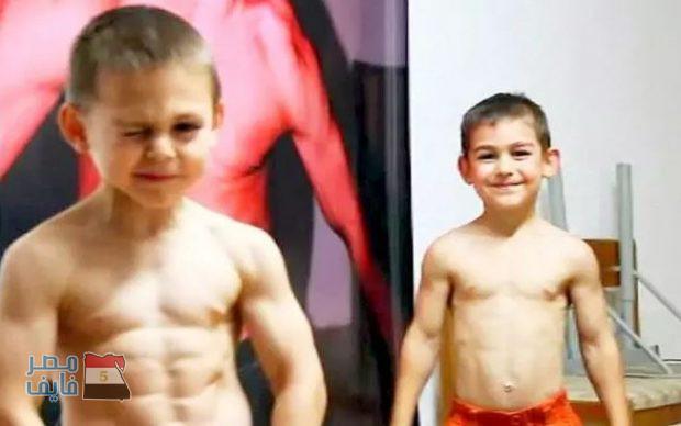 أقوى ثلاث أطفال فى العالم