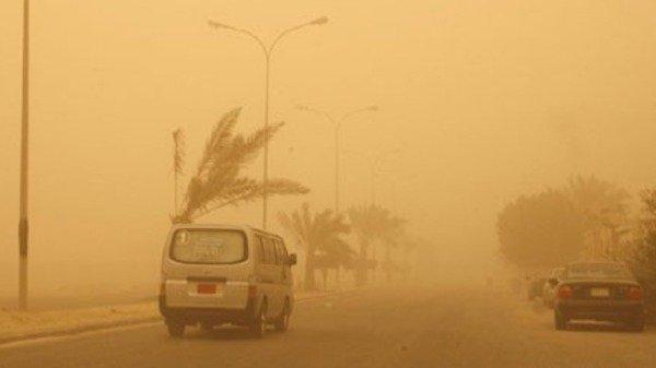 أنخفاض في درجات الحرارة علي محافظات مصر مصاحب نشاط في حركة الرياح المثيرة للأتربة