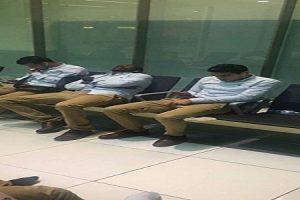 """احتجاز 4 لاعبين من المصري في مطار أبو ظبي """" صور"""""""