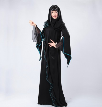 اشيك أزياء ملابس محجبات جديدة 2018 12