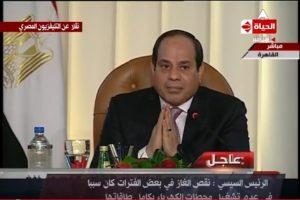 شاهد| الرئيس ينفعل  منذ قليل على مذيعة «حكاية وطن»