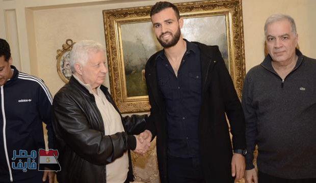 بالصور.. شاهد  نجم تونس يوقع لنادي الزمالك رسميًا