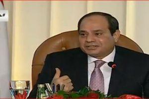 مفاجأة.. السيسي: كنت سأترك الرئاسة وأدعوا لإنتخابات رئاسية مبكرة في هذه الحالة