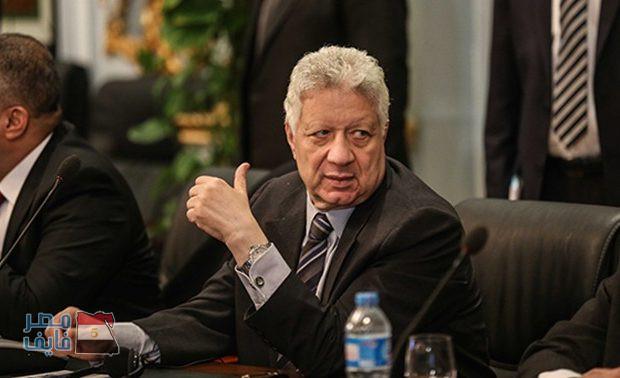 """مفاجأة.. مرتضى منصور: """"نجم الزمالك عاوز يروح الأهلي"""""""