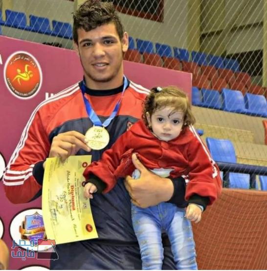 بطل مصر للمصارعة الرومانية عبد اللطيف منيع