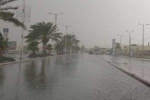 الارصاد : طقس بارد نهاراً شديد البرودة ليلاً ورياح تصل لحد العاصفة وأمطار لمدة 48 ساعة