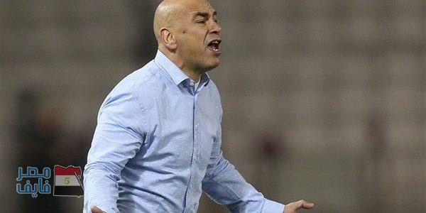 """حسام حسن: """"لاعبي المصري رجالة ومنخسرناش تلاتة زي الزمالك"""""""