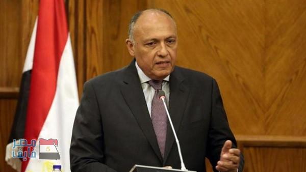شكري: يؤكد التزام مصر باتفاق إعلان مبادئ سد النهضة الإثيوبي