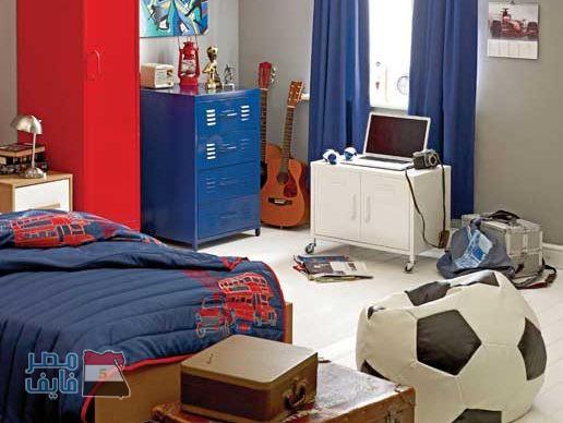 صور غرف نوم شباب وأولاد 2018