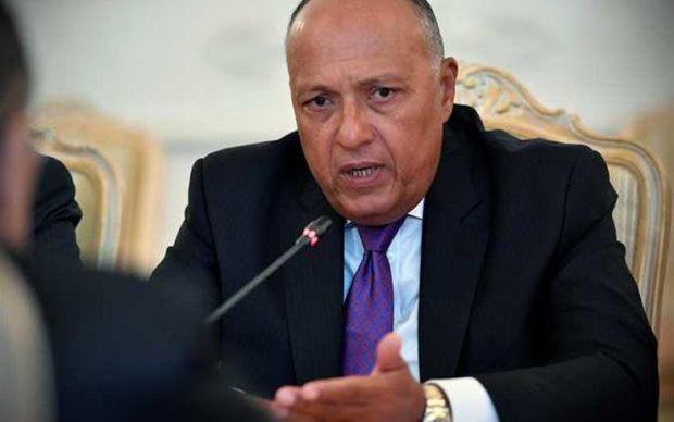 تعرف على سبب مغادرة وزير الخارجية المصري إلى أثيوبيا صباح اليوم
