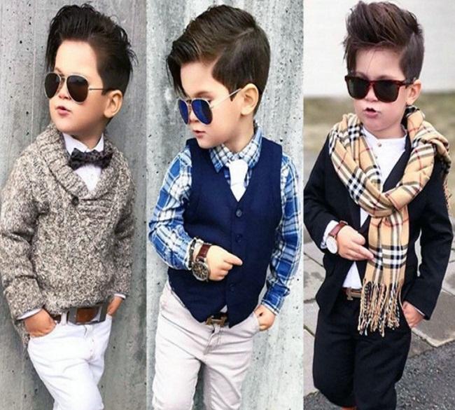 صور قصات شعر جديدة للأولاد والصبيان