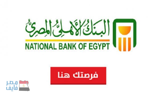 وظائف البنك الأهلي المصري لكل التخصصات .. الشروط وخطوات التقديم بالروابط