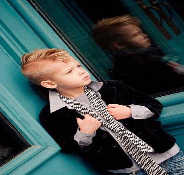 صور قصات شعر مودرن للأولاد والصبيان 8