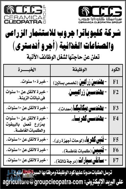 وظائف الصحف المصرية لجميع التخصصات والمؤهلات داخل وخارج مصر 2
