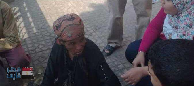 أم من القليوبية تجبر أبنائها الستة علي التسول