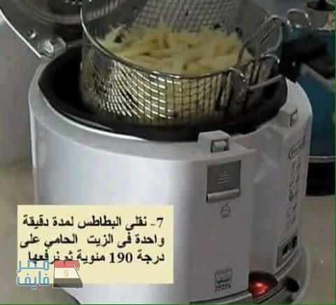 طريقة عمل البطاطس الفارم فريتس في المنزل بالصور 7
