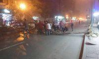 شاهد بالصور.. سقوط أشجار في وسط القاهرة بسبب الطقس السيء