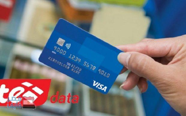 ادفع فاتورة دي إي داتا TE- DATA أون لاين بسهولة