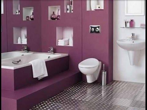 احدث وأجمل ديكورات وأطقم حمامات 2019 16