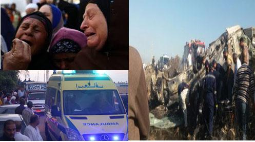 بيان عاجل من النيابة العامة بشان حادث السخنة وعدد القتلى والمصابين حتى الآن