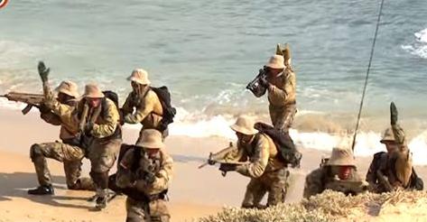 بالفيديو.. القوات البحرية المصرية تحمي «حقل ظهر»
