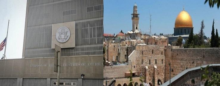 نقل السفارة الأمريكية قريبا من تل أبيب إلى القدس