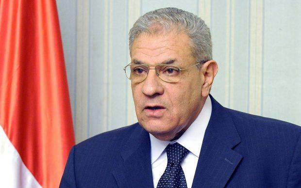 إبراهيم محلب يصل الموصل ليشارك في إعادة اعمار العراق