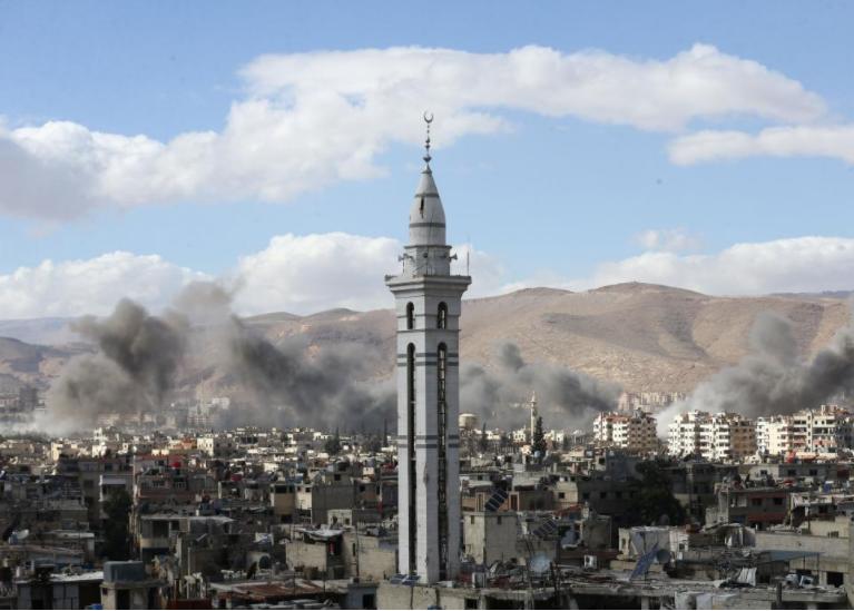 خطة الهدنة الروسية تفشل في وقف قصف الغوطة السورية
