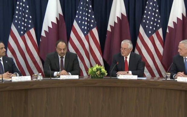 """البيان الأمريكي أمس بشأن قطر يثير جدل كبير ومحلل سياسي يؤكد """"الريال القطري انتصر"""" والأمم المتحدة تتهم مصر والسعودية والإمارات"""
