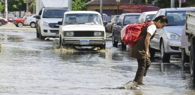 أمطار غزيرة تضرب إحدى محافظات مصر منذ قليل ورفع درجة الاستعداد بالأجهزة التنفيذية لمواجهة الطقس السيئ بها