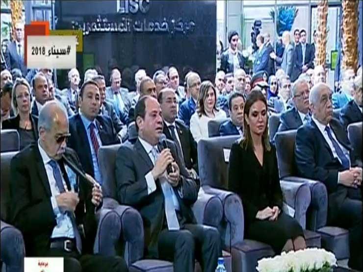 """الرئيس يرد على سؤال المصريين: """"بنستورد غاز إسرائيلي ليه وعندنا حقل ظهر؟"""""""