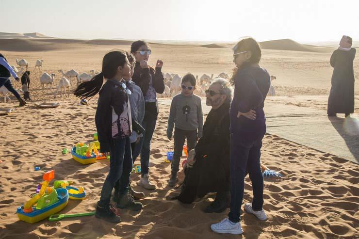 الوليد بن طلال ينشر أولى صوره وهو يستمتع بوقته في الصحراء عقب الإفراج عنه 1