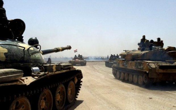 سوريا تُعلن عن تصدّي غارات القصّف الإسرائيلي فجر اليوم