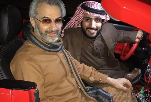 شاهد| ظهور جديد للوليد بن طلال مع أحد المشاهير 1