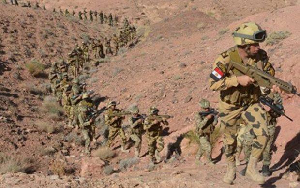 بالفيديو: رسالة من جنود الجيش في سيناء من قلب العملية الشاملة