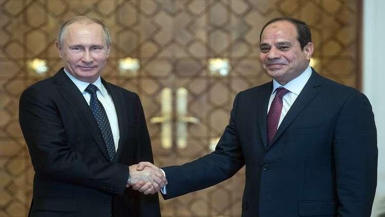 """ماذا قال الرئيس السيسي لـ""""بوتين"""" بمناسبة فوزه بالانتخابات"""