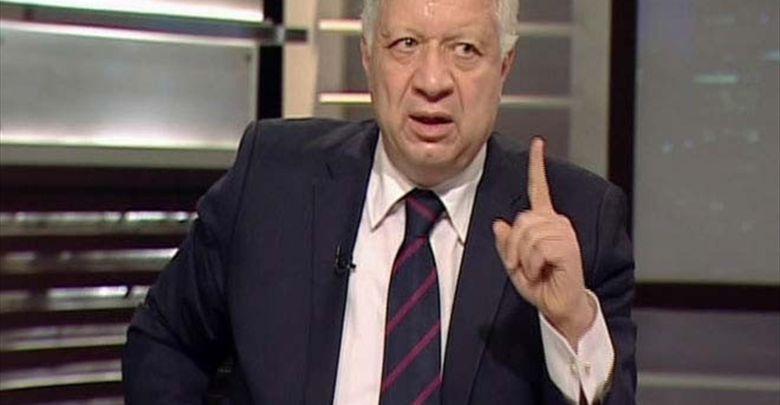 مرتضى منصور يتحدى وزير الرياضة ويطلق تصريحات نارية عن اتحاد الكرة والنادي الأهلي