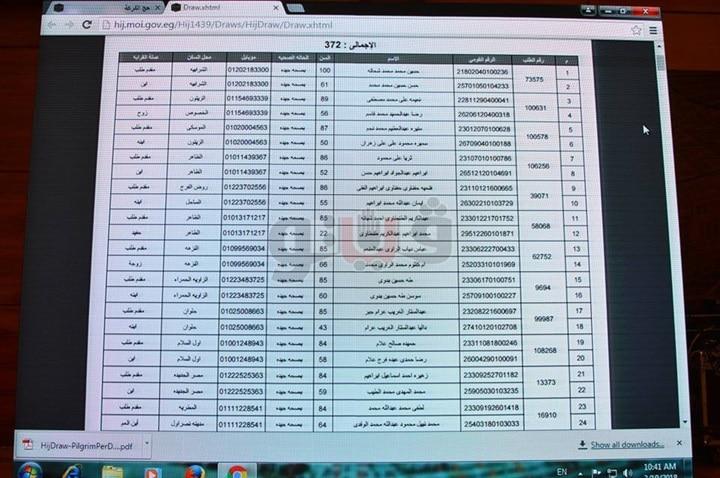 استعلم عن نتيجة قرعة الحج 2019 بجميع المحافظات من خلال رابط بوابة الحج المصرية الإلكترونية 6