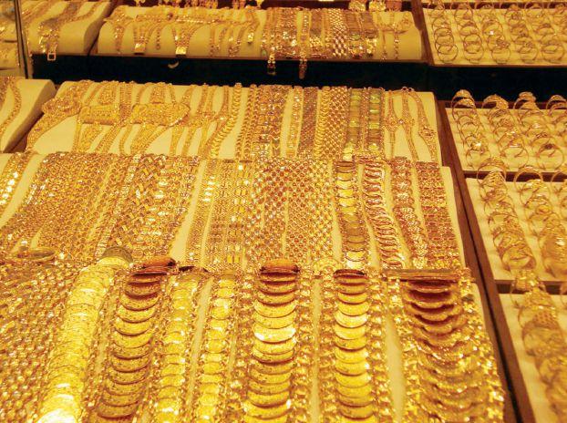 أسعار الذهب تسجل تراجع جديد خلال اليوم الإثنين في جميع محلات الصاغة