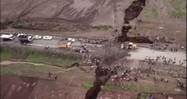 زلزال عملاق أدى لتصدع شديد بالقشرة الأرضية فهل ستنقسم إفريقيا لنصفين