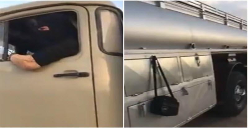 حدث غير مسبوق | سعودية تعمل سائقة شاحنة .. فيديو