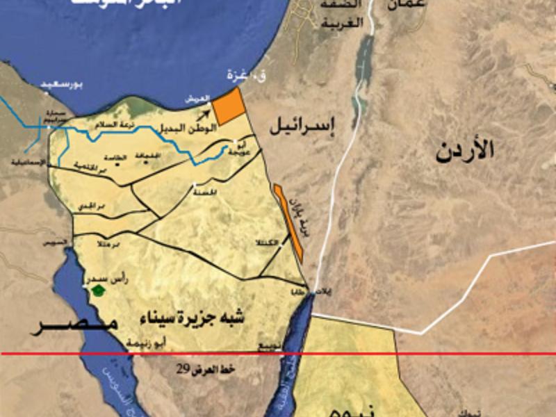 """""""صحيفة مصرية"""" تكشف عن أسرار """"صفقة القرن """": الجزء الثانى"""
