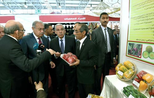 السيد رئيس الوزراء يفتتح معرض القاهرة الدولي 14 مارس2018