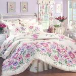 مفارش سرير ابيض